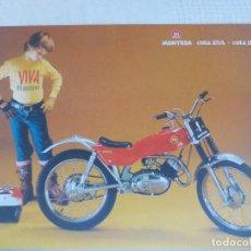 Coches y Motocicletas: MONTESA COTA 25 A COTA 25 C. Lote 103208951