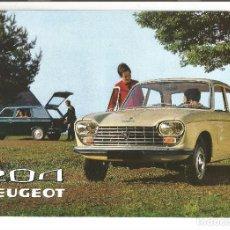 Coches y Motocicletas: PEUGEOT 204 .- CATALOGO FRANCES 1970 . Lote 103660903