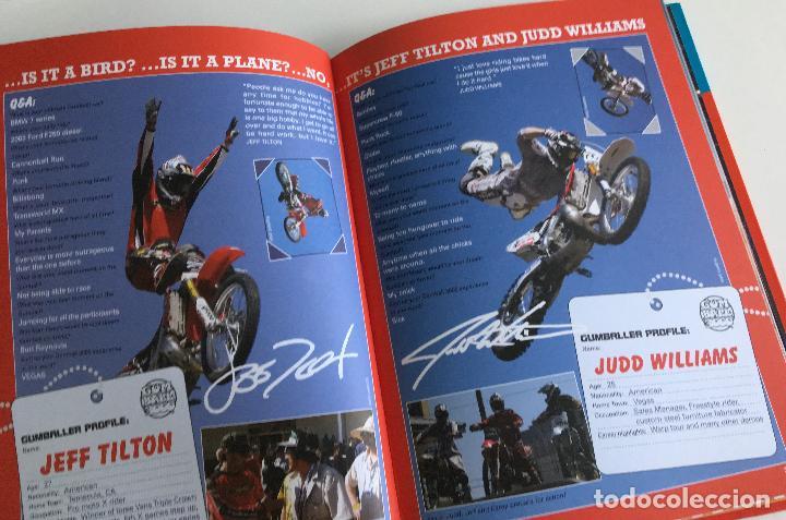 Coches y Motocicletas: LIBRO GUMBALL 3000 - THE OFFICIAL ANNUAL 2004. -TEXTO EN INGLÉS. - Foto 2 - 103676375