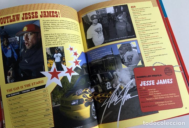 Coches y Motocicletas: LIBRO GUMBALL 3000 - THE OFFICIAL ANNUAL 2004. -TEXTO EN INGLÉS. - Foto 3 - 103676375