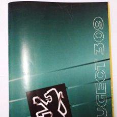Coches y Motocicletas: CATALOGO PEUGEOT 309 COCHE. Lote 103863595
