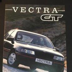 Coches y Motocicletas: FOLLETO CATALOGO PUBLICIDAD ORIGINAL OPEL VECTRA GT DE 1990. Lote 104319807