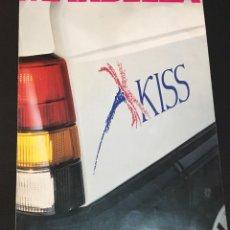 Coches y Motocicletas: FOLLETO CATALOGO PUBLICIDAD ORIGINAL SEAT MARBELLA KISS DE 1992. Lote 104320295