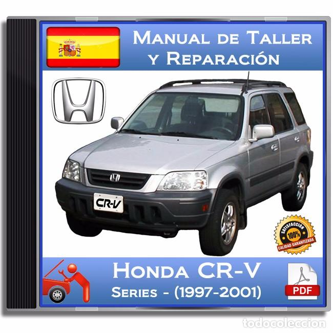 honda cr v series 1997 2001 manual de t comprar cat logos rh todocoleccion net manual de usuario honda crv 2006 español Honda CR-V Manual Transmission