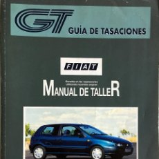 Coches y Motocicletas: GUÍA DE TASACIONES FIAT BRAVO/BRAVA - ENERO 1998. . Lote 105191183