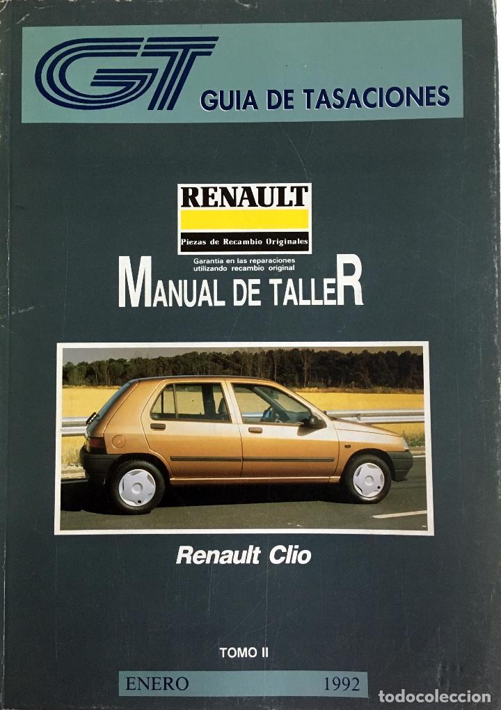 Coches y Motocicletas: GUÍA DE TASACIONES RENAULT CLIO - ENERO 1992. - 2 TOMOS. - Foto 2 - 105197543