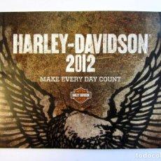 Coches y Motocicletas: CATÁLOGO HARLEY-DAVIDSON 2012.. Lote 105784395