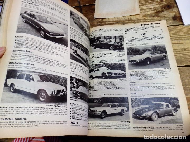 Coches y Motocicletas: Revista Le Salon de L'Auto 1976, 233 paginas ilustradas, magnifico - Foto 3 - 105793563