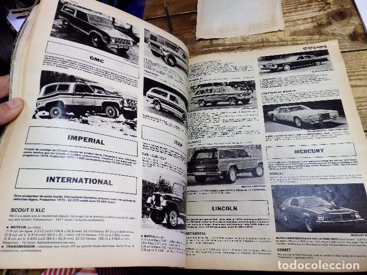 Coches y Motocicletas: Revista Le Salon de L'Auto 1976, 233 paginas ilustradas, magnifico - Foto 4 - 105793563