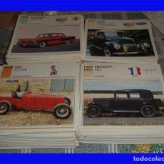 Coches y Motocicletas: MAS DE 900 FICHAS DE COCHES AUTOS DE COLECCIÓN ED PLANETA DEAGOSTINI 1992 DATOS TÉCNICOS E HISTORIA. Lote 105854915