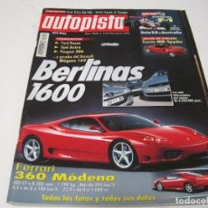 Coches y Motocicletas: AUTOPISTA 1999: RENAULT MEGANE 1.8; FORD FOCUS 1.6; OPEL ASTRA 1.6; PEUGEOT 306 1.6; ETC..... Lote 105950375