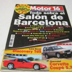 Coches y Motocicletas: MOTOR16 1999: CHEVROLET CORVETTE; LAND ROVER DISCOVERY TD5; HYUNDAI SONATA; ETC.... Lote 107241611