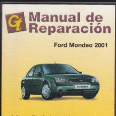 Coches y Motocicletas: GT, MANUAL DE REPARACIÓN, FORD MONDEO 2001. Lote 107731867
