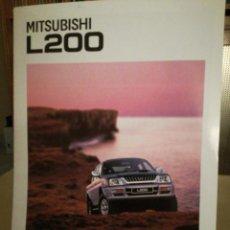 Coches y Motocicletas: CATALOGO MITSUBISHI L200. Lote 108486647
