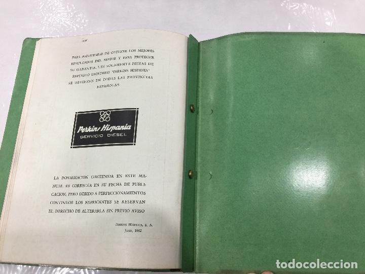 Coches y Motocicletas: PERKINS MANUAL DE TALLER MOTORES DIESEL SERIE P4/PH Y P4/192 - Foto 12 - 108750219