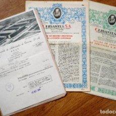 Coches y Motocicletas: DOCUMENTACIÓN COMPRA SEAT 600 + SEGURO INDIVIDUAL ACCIDENTE + PÓLIZA SEGURO VEHÍCULO 600 AÑO 1966. Lote 108799187