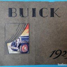 Coches y Motocicletas: CATALOGO AUTOMOVIL , BUICK 1929 , EN CASTELLANO , ORIGINAL. Lote 108899583