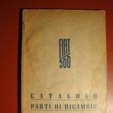 Coches y Motocicletas: FIAT 500. Lote 109106431