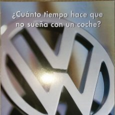Coches y Motocicletas: CATALOGO WOLKSWAGEN 1996 POLO, POLO HARLEKIN, PASSAT, SHARAN, GOLF III (MATCH, GT, GTI, VR6...) 24PG. Lote 109763199