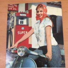 Coches y Motocicletas: VESPA PIAGGIO AÑOS 60 CARTON PARA CALENDARIO. Lote 109763235