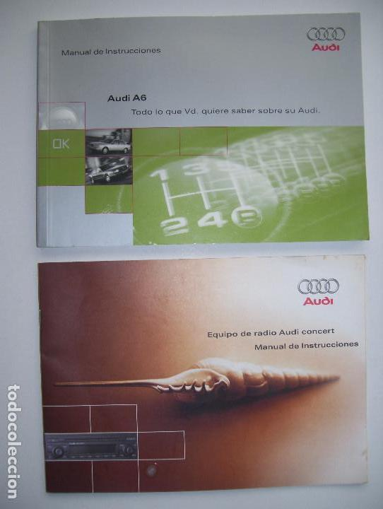 audi a6 a o 1995 manual de usuario y de la ra comprar cat logos rh todocoleccion net manual de usuario audi a6 2005 manual de usuario audi a6 2005
