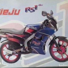 Coches y Motocicletas: FOLLETO CICLOMOTOR RIEJU RS1. Lote 110655847