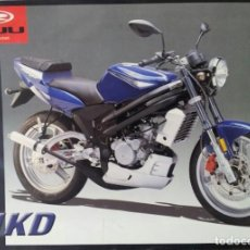Coches y Motocicletas: FOLLETO (BROCHURE) CICLOMOTOR RIEJU NKD. Lote 110656135