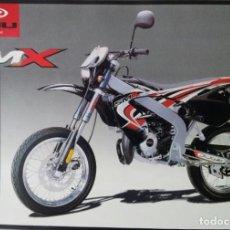 Coches y Motocicletas: FOLLETO (BROCHURE) CICLOMOTOR RIEJU SMX. Lote 110656199