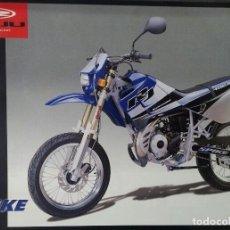 Coches y Motocicletas: FOLLETO ORIGINAL (BROCHURE) DEL CICLOMOTOR RIEJU SPIKE. Lote 110656799