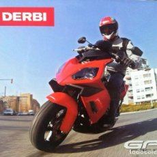 Coches y Motocicletas: FOLLETO DERBI GP1 RACING. Lote 110657819
