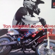 Coches y Motocicletas: FOLLETO (BROCHURE) DERBI SENDA SUPERMOTARD. Lote 110659491