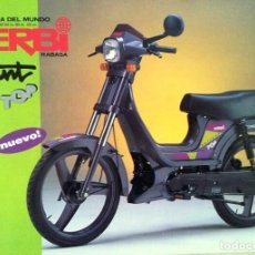 Coches y Motocicletas: FOLLETO (BROCHURE) DERBI VARIANT TOP. Lote 110659683
