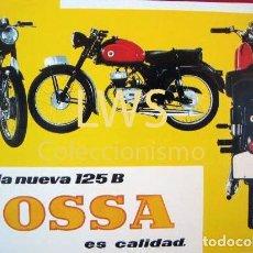 Automobili e Motociclette: OSSA...LANUEVA 125 B ES CALIDAD - IMÁGENES - MOTOCICLISMO MOTOR S-4. Lote 110889291