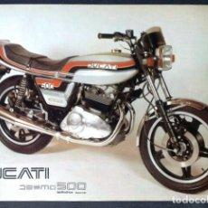 Coches y Motocicletas: FOLLETO (BROCHURE) DUCATI DESMO 500 ORIGINAL. Lote 110899611