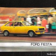 Coches y Motocicletas: CATALOGO COCHE FORD FIESTA, 18PAGINAS,1979, RARO. Lote 110914563