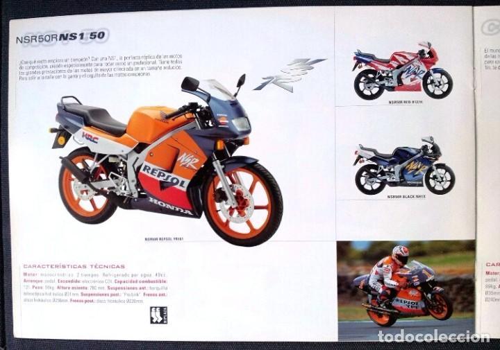 Coches y Motocicletas: Catálogo Ciclomotores HONDA - 2002 - Foto 2 - 111023531