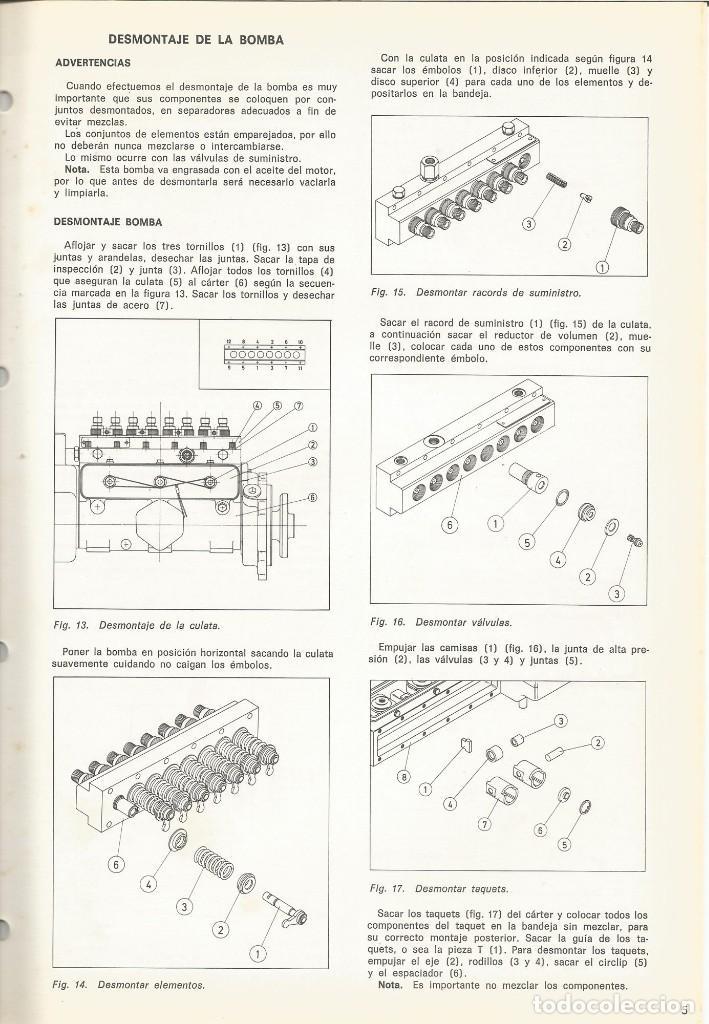Coches y Motocicletas: Manual de taller bomba inyeccion Minimec CAV Condiesel - Foto 2 - 111026439
