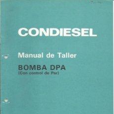 Coches y Motocicletas: BOMBA DE INYECCIÓN DPA. Lote 111645651