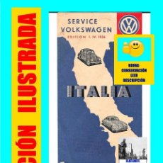Coches y Motocicletas - SERVICE - SERVICIO - VOLKSWAGEN PORSCHE - ITALIA - EDITION EDICIÓN 1. IV. 1956 - RARÍSIMO - 112092347