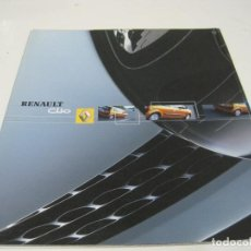 Coches y Motocicletas: RENAULT CLIO: CATÁLOGO COMERCIAL 2003. Lote 112093795