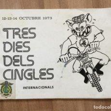 Coches y Motocicletas: PROGRAMA TRES DIES DELS CINGLES GALLIFA, SANFELIU CODINAS 1973 TRIAL, OSSA, BULTACO, MONTESA,. Lote 112220039