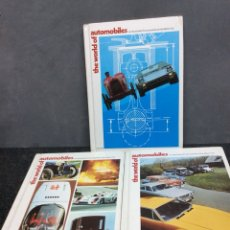 Coches y Motocicletas: THE WORLD OF AUTOMOBILES AN , TOMOS 1,2,3 ( EDICION EN INGLES CON ILUSTRACIONES ) - AUTOMOVIL. Lote 47958704