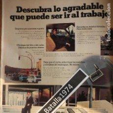 Coches y Motocicletas: PUBLICIDAD SEAT 132 - CAMBIO AUTOMÁTICO - AIRE ACONDICIONADO - AÑO 1977. Lote 113276359