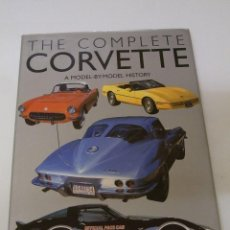 Coches y Motocicletas: CHEVROLET CORVETTE MUSCLE CAR GUIA MODELOS LIBRO GIGANTE ORIGINAL. Lote 113377271