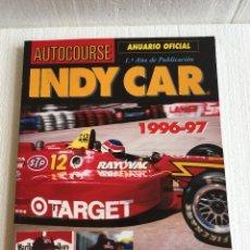 Coches y Motocicletas: LIBRO INDY CAR ANUARIO OFICIAL 1996-97. Lote 113498495