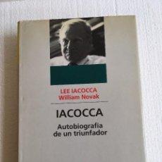 Coches y Motocicletas: LIBRO IACOCCA AUTOBIOGRAFIA PRESIDENTE CHRYSLER. Lote 113499339