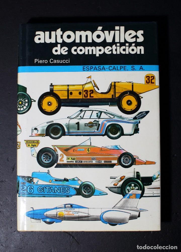 AUTOMOVILES DE COMPETICIÓN (Coches y Motocicletas Antiguas y Clásicas - Catálogos, Publicidad y Libros de mecánica)