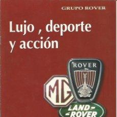 Coches y Motocicletas: GRUPO ROVER. ROVER MG LANDROVER. Lote 113793783
