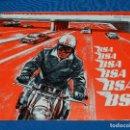Coches y Motocicletas: CATALOGO MOTOS BSA 1966, ILUSTRADO, DESPLEGABLE, 25 X 20'5 CM, . Lote 113840587