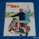 Coches y Motocicletas: CATALOGO MOTOS BSA 1963 , ILUSTRADO, 12 PAG, 25'5 X 20'5 CM, . Lote 113840719